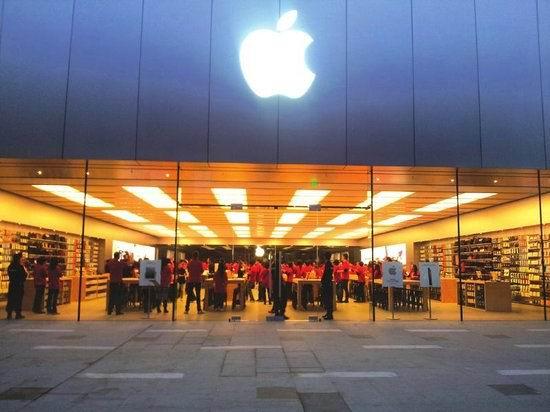 柏克助力万象城苹果店